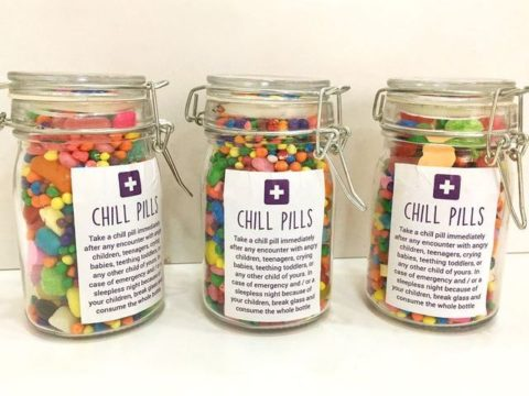candy jars 18,000 LL each
