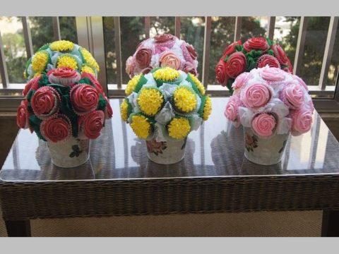 cupcake pot 80,000 LL each