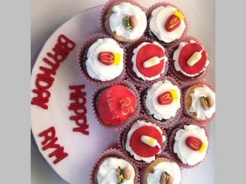 MacDonald cupcake