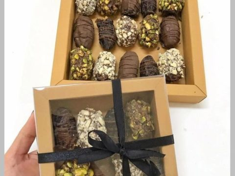 dates dipped in chocolate