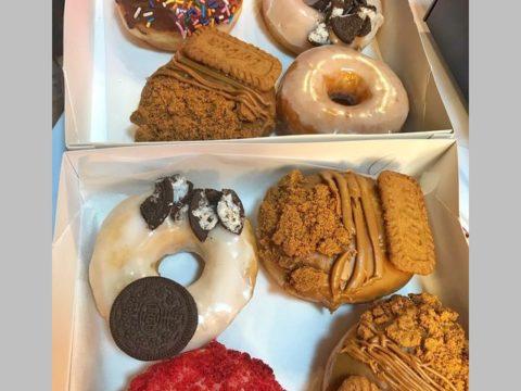 mixed doughnuts
