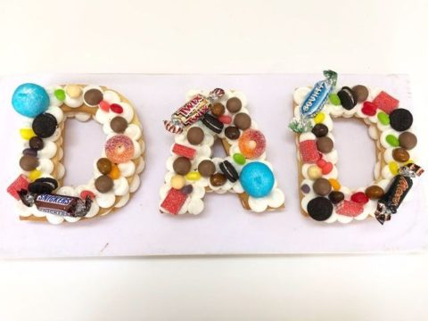 sugar cookie letter