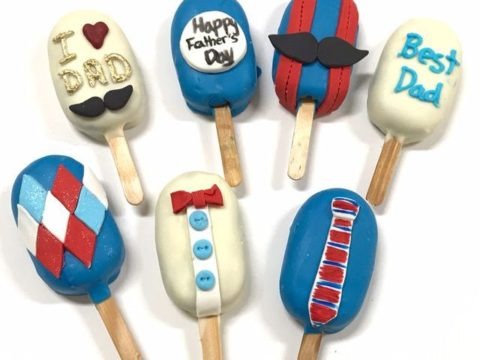father's day Popsicles