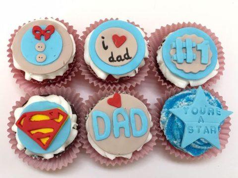 super dad cupcakes