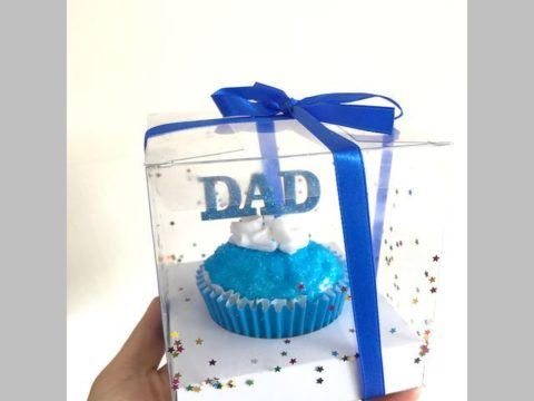fathers day cupcake