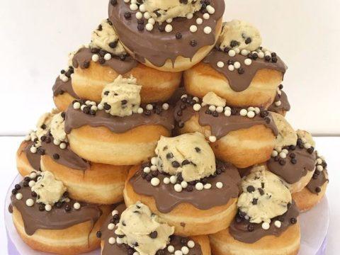 doughnut pyramid