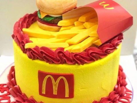 Mac Do cake
