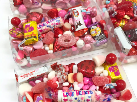 Candy plexi box