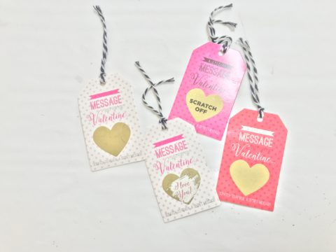 scratchable tags 2,000